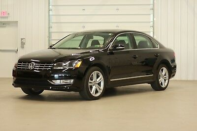 2015 Volkswagen Passat SEL Premium Sedan 4-Door 2015 Volkswagen Passat SEL Premium*1.8L Turbo*24City/36Hwy MPG* Black on Black