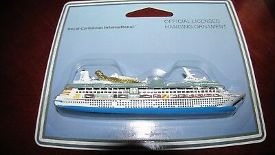 NEW Official Royal Caribbean Enchament  of the Seas Ship Ornament Christmas RCCL