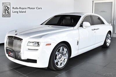 2013 Rolls-Royce Ghost (Certified Pre-Owned) Unlimited Miles Warranty Including Maintenance Expires - 09/27/2018