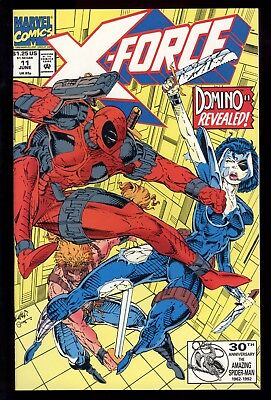 X-Force (1991) #11 1st Print 1st Full App Domino Deadpool Cable App Liefeld NM