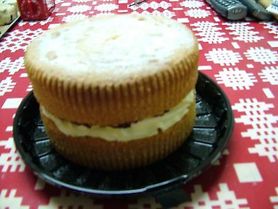 Home made Cakes,Biscuits,Jams+Pickles -VICTORIA SPONGE CAKE (with jam+cream)