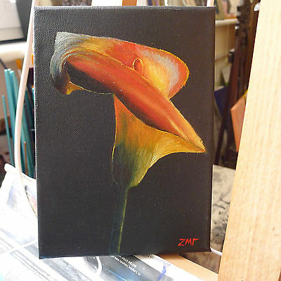 Original Oil Painting On Canvas Realism,still Life,signed.