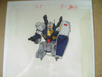 Mobile Suit Zeta Gundam  Z Gundam Mark 2 Ii Anime Production Cel 3