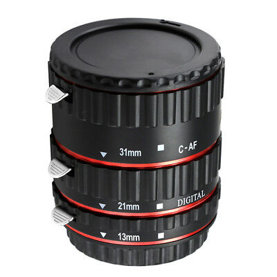 Lens Adapter AF Auto Focus Extension Tube for Canon EOS EF-S Camera MagiDeal