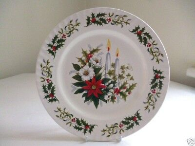 "Immaculate & Quality 10"" CHRISTMAS PLATE ~ Displayed Only"