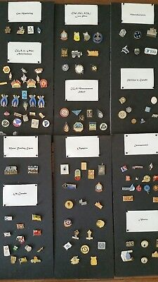 Natural Gas Utility Pins Collection