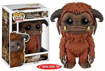 "Funko Pop Movies: Labyrinth - Ludo 6"" Vinyl Figure"