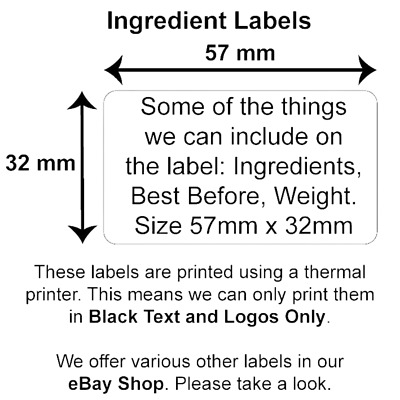 Personalised Business Name Stickers Address Labels Thank You Seals Custom Print