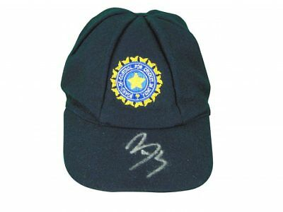 Yuraj Singh Signed India Cricket Test Cap+ Photo Proof *see Singh Sign This Cap*