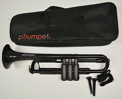 NEW pTrumpet PLASTIC TRUMPET - ITEM #PTRUMPET1BLK, COLOR: BLACK