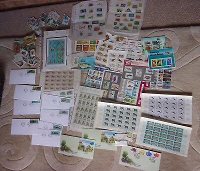 Job Lot of Worldwide Aquatic (Fish) Stamps and Covers. Mint & used