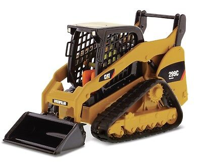 Diecast Masters Real Replica CAT 299C Compact Track Loader 1:50 Scale 85226