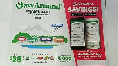 Enjoy the City Coupon book; Miami-Dade 2017 Fresh Market Whole Foods SaveAround