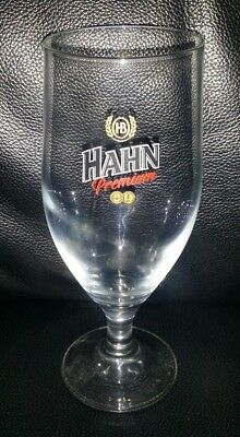 Rare Collectable Hahn Premium Beer Glass Brand New Never Used