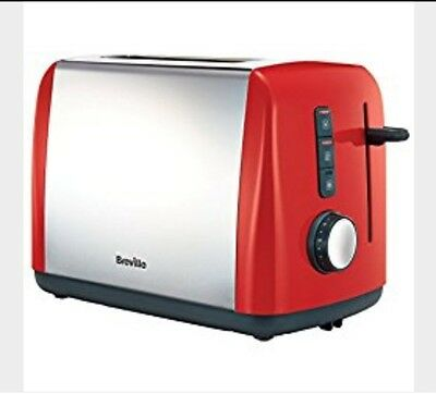 Breville Colour Collection 2 Slice Toaster, Red