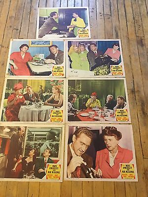 Vintage Mrs. O'Malley And Mr. Malone Theatre Movie Lobby Cards