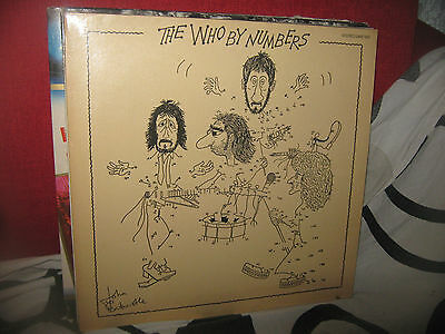 The Who By Numbers Lp 1975