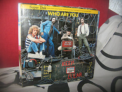 The Who-Who Are You-Lp-Super Disk-1978