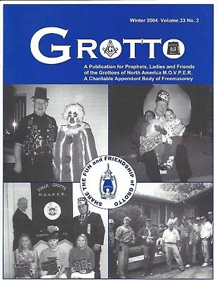 """Grotto Magazine Winter 2004 Lalla Rookh-""""Blooming"""" Prophets-Enchanted Lantern"""