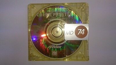 VICTOR Minidisc including case free delivery