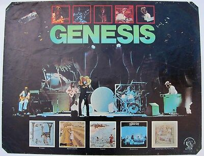 Genesis Selling England By The Pound poster rare