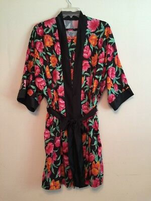Vintage Ladies Avon Two-Piece Tulip Gown And Robe Size 2X