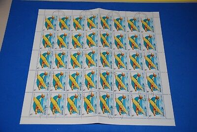 Vietnam - Sea Air Plane - Hafnia - Complete Sheet of 40