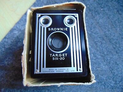 Target Six-20 Brownie Camera With Box Film Still In It.. 1937
