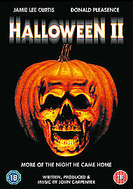 Halloween 2 (DVD)Jamie Lee Curtis, new with seal ......horror ....