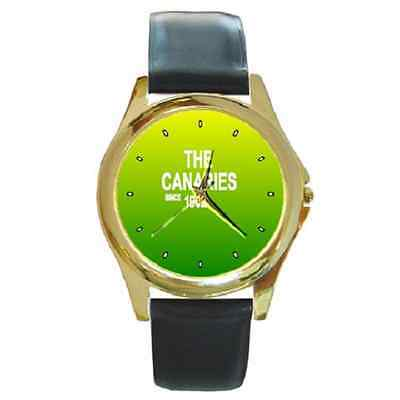 **new* The Canaries Since 1902 Round Wristwatch **great Gift Item**