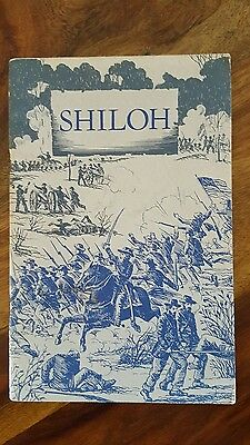 Shiloh National Military Park Guide Book w/ Photos by Dillahunty, 1961 Reprint