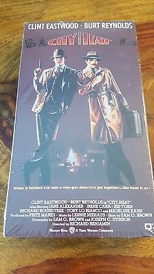New sealed City Heat with C. Eastwood and Burt reynolds (vhs 1991)