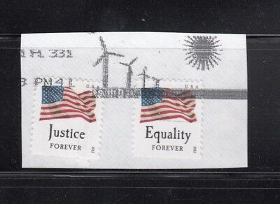 USA Forever used Stamps