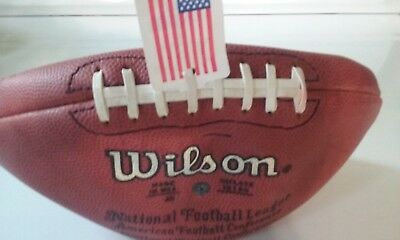 Nfl Official Wilson F1000 Football- Paul Taglibue Commissioner Uninflated