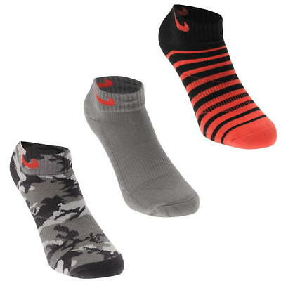 NIKE 3 Pack TECH GOLF SOCKS Junior UNISEX Girl Boy Womens Size UK 5-8 ,EUR 38-42