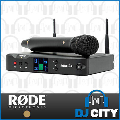 Rode RodeLink Performer Kit Digital Handheld Wireless Microphone Vocal Mic