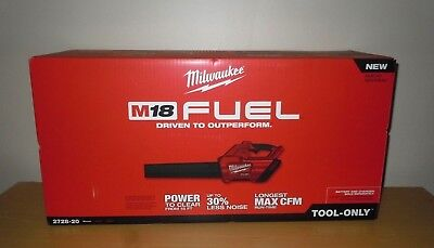 Milwaukee Battery Power Leaf Blower M18 Fuel Model 2728-20 Tool Only NEW