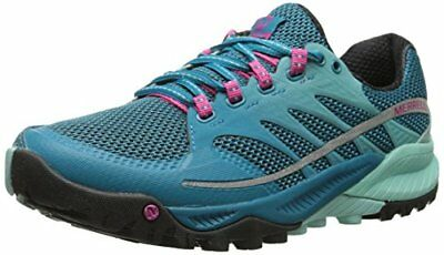 Merrell ALL OUT CHARGE, Damen Traillaufschuhe, Blau (ALGIERS BLUE/ADVENTURINE),