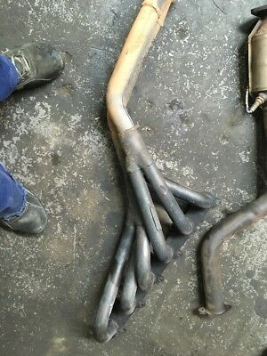 Ford Falcon & Fairlane Ba Bf 6Cyl Xt Xr6 4L Redback Headers Extractors