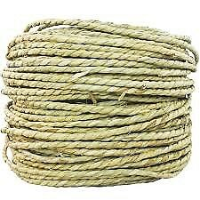 BIRDTALK BIRD PARROT TOYS 5 METERS SEAGRASS ROPE more toy parts in my store