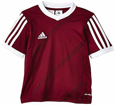 adidas Tabela 14 Maillot Homme Cardinal/Blanc FR : Taille 128 cm (Taille Fabrica