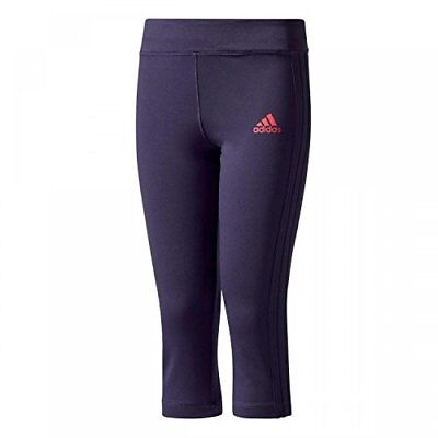 Adidas YG Gu 3/4 tight collant, filles L Multicolore - (tinnob / rosene)