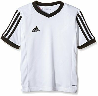 adidas Tabela 14 Maillot Homme Blanc/Noir FR : 140 cm (Taille Fabricant : 140 cm