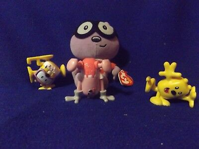 Wow Wow Wubbzy collectibles Lot! Ty Plush with figures. LooK!!