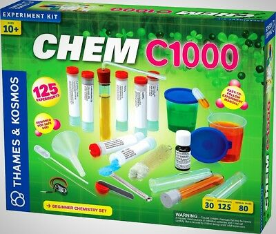 CHEM C1000 V 2.0 Thames and Kosmos 30pieces for 125 experiments Science Learning