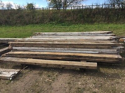 Reclaimed Pitch Pine joists 11 x 3 x 4.1 METERS LONG
