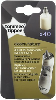 Tommee Tippee Digital Ear Thermometer 40 Hygiene Covers Accurate Easy To Use New