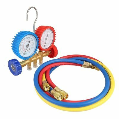 Refrigeration Air Conditioning Tools AC Diagnostic Manifold Gauge Set For Cars