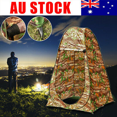 Portable Pop Up Tent Instant Outdoor Camping Toilet Shower Private Changing Room