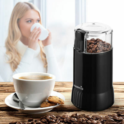 Easehold 200W Electric Coffee Bean Spice Grinder Stainless Steel Blades Blender